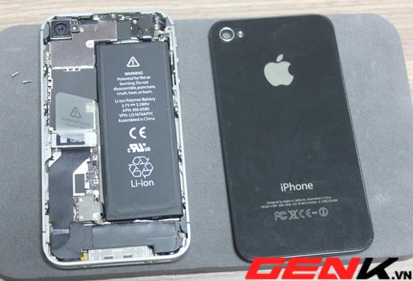 Hướng dẩn cách phân biệt iPhone 4/4S hàng dựng tại Việt Nam